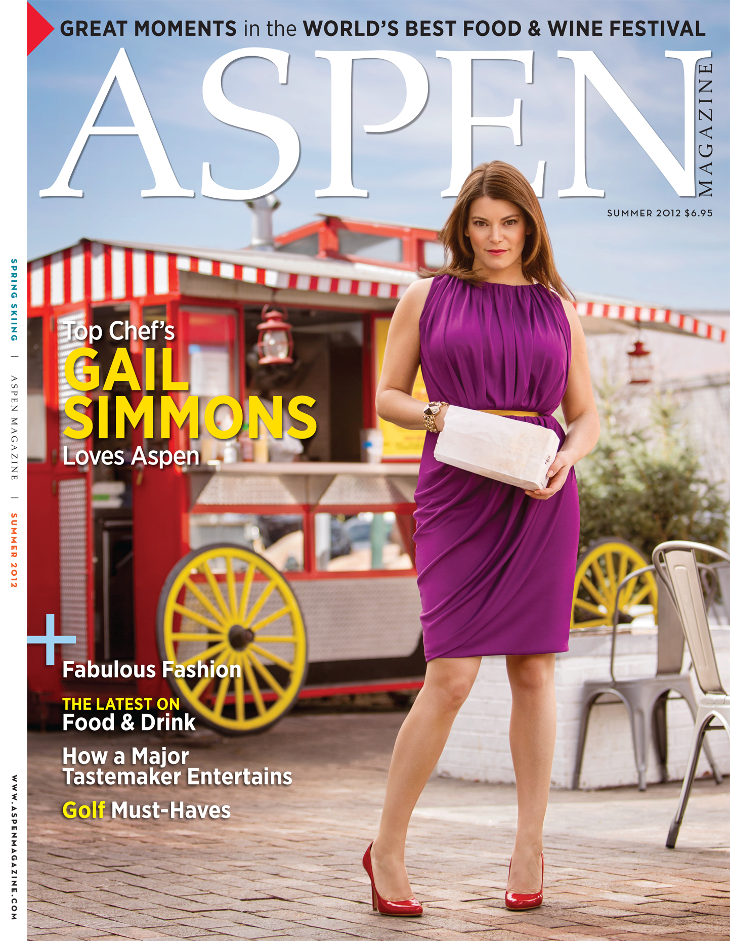 Tomas Zuccareno Photography | Gail Simmons cover