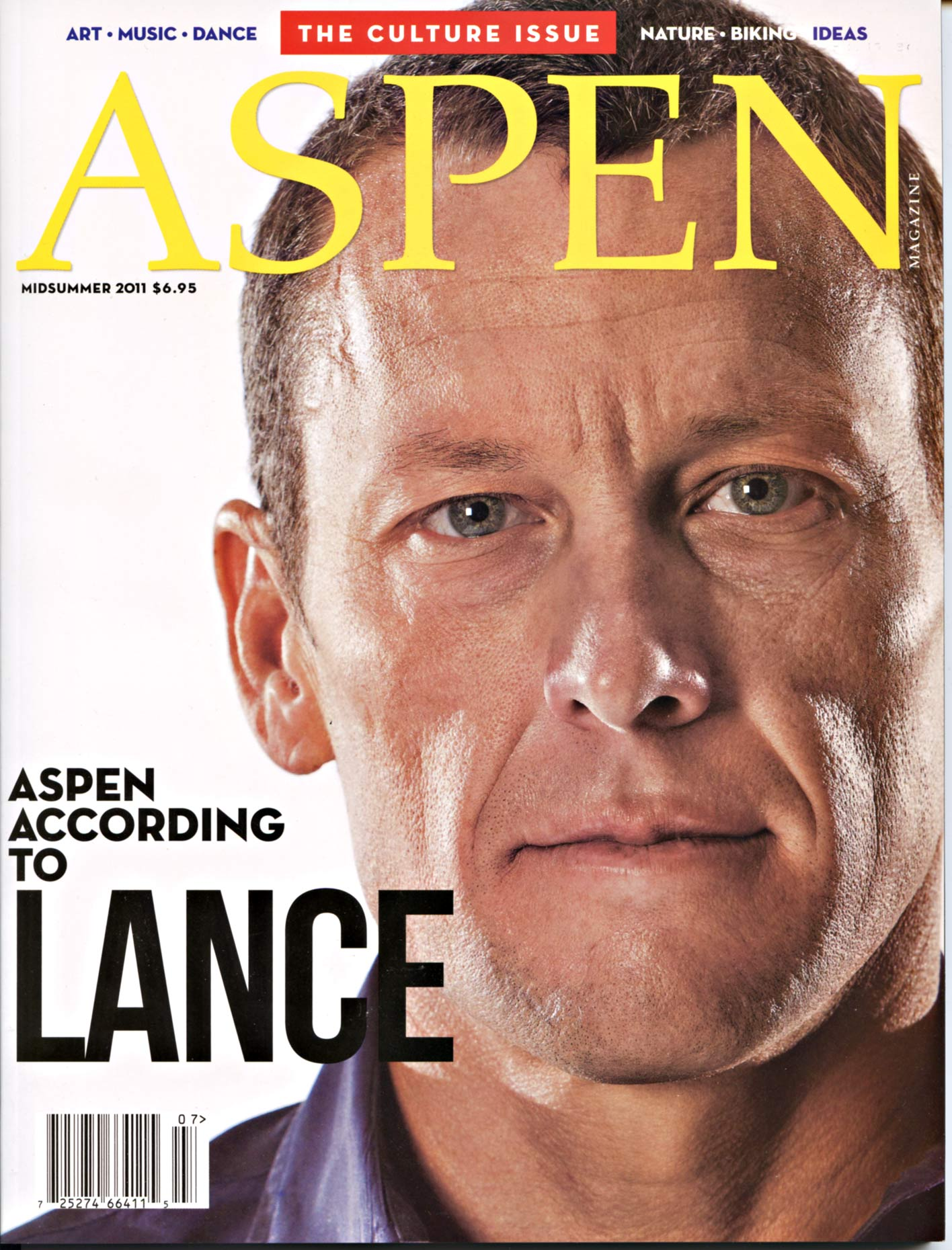 Tomas Zuccareno Photography | Lance Armstrong cover