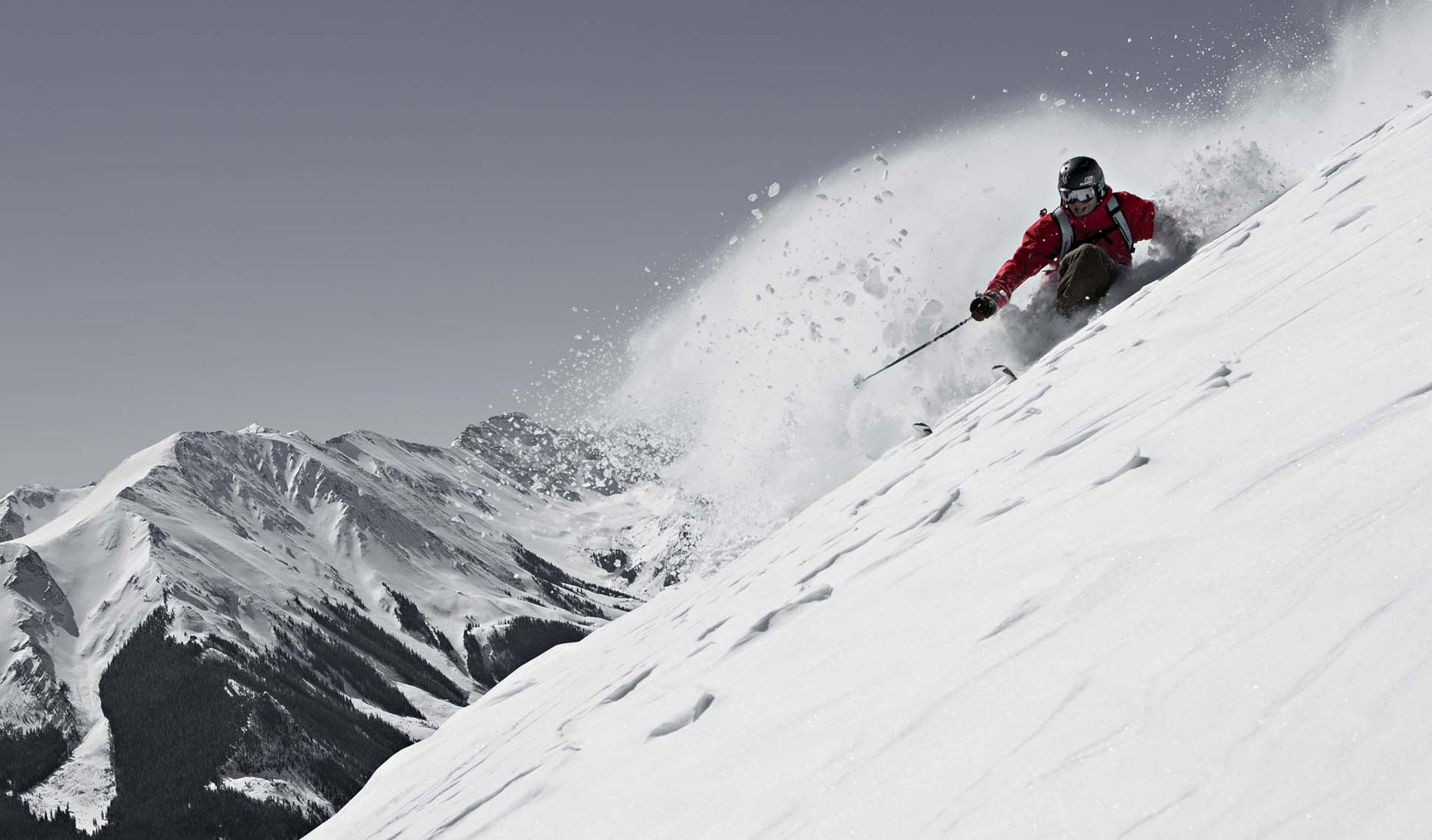 Tomas Zuccareno Photography | Skiing Powder in Colorado