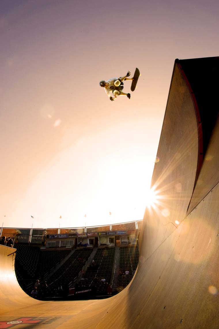 Tomas Zuccareno Photography | Pierre-Luc Gagnon Skateboarding at the X Games