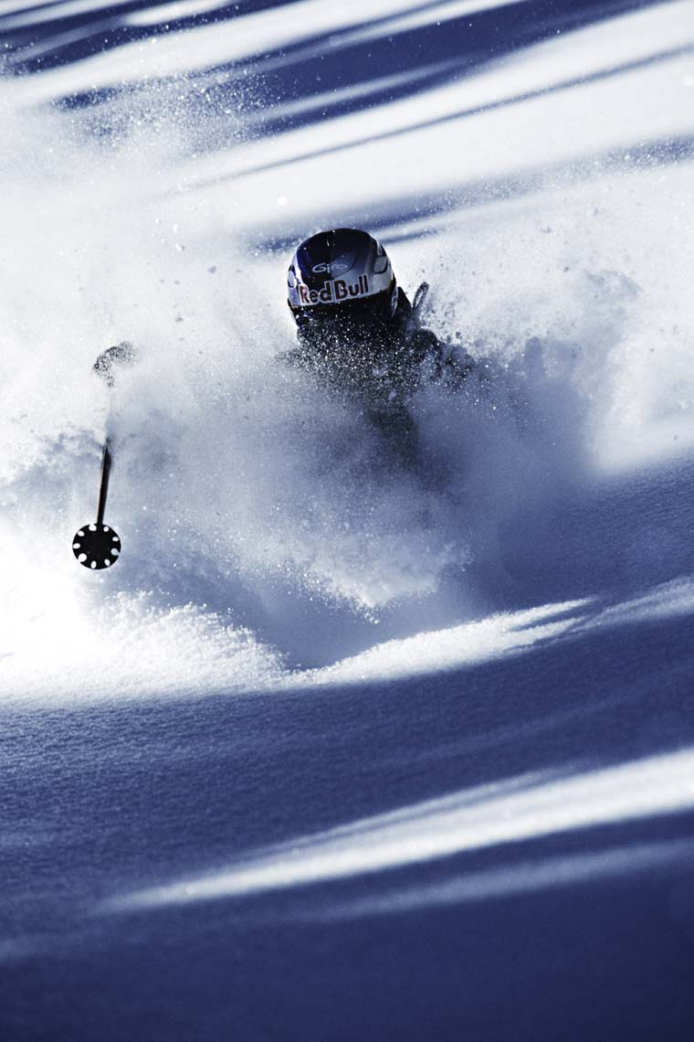 Tomas Zuccareno Photography | Chris Davenport Skiing in Aspen, Colorado