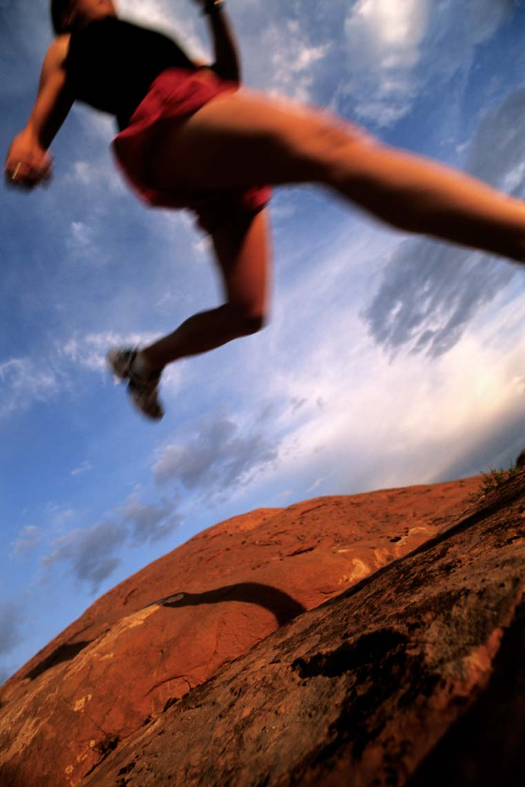 Tomas Zuccareno Photography | Trail Running in Moab, Utah