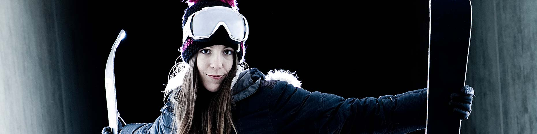 Tomas Zuccareno Photography | Female Skiier Portrait