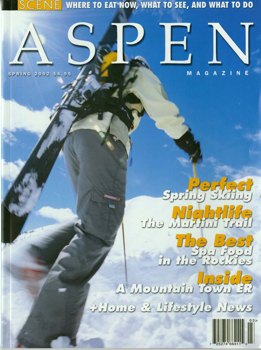 Tomas Zuccareno Photography | Aspen Magazine cover
