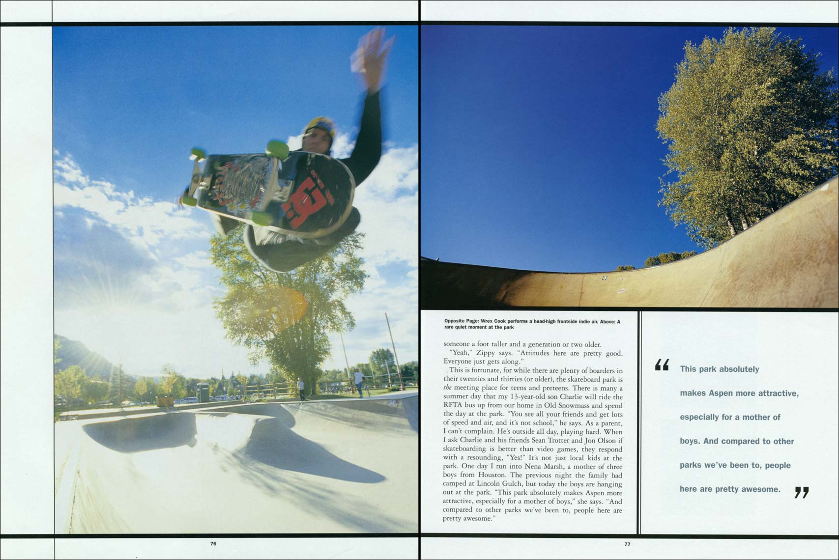 Tomas Zuccareno Photography |Skateboarding feature | Aspen Magazine