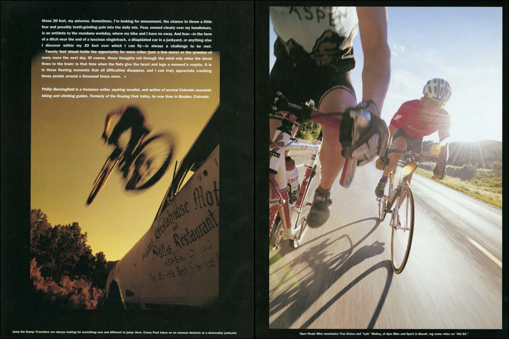 Tomas Zuccareno Photography |Bicycling Feature | Aspen Magazine