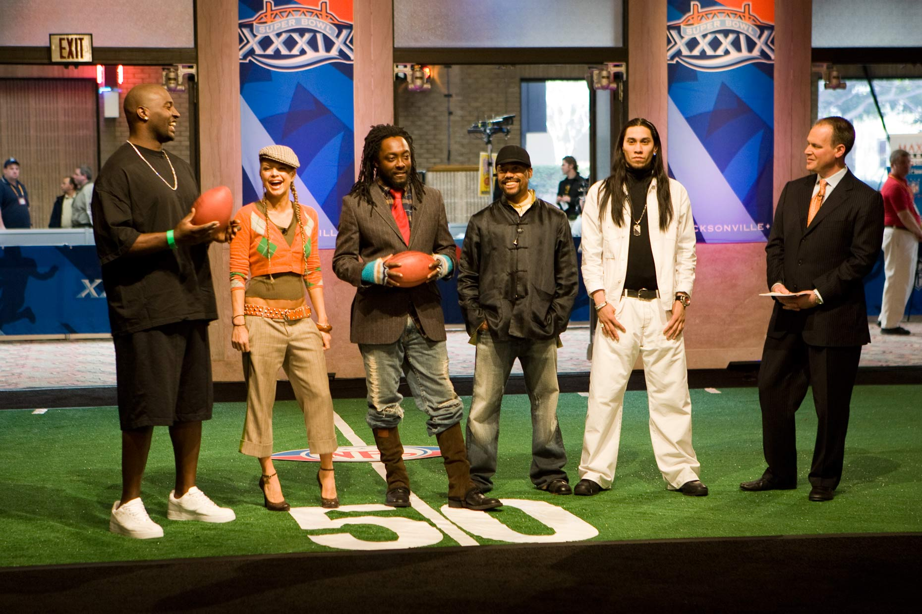 Tomas Zuccareno Photography | Black Eyed Peas| Super Bowl XXXIX