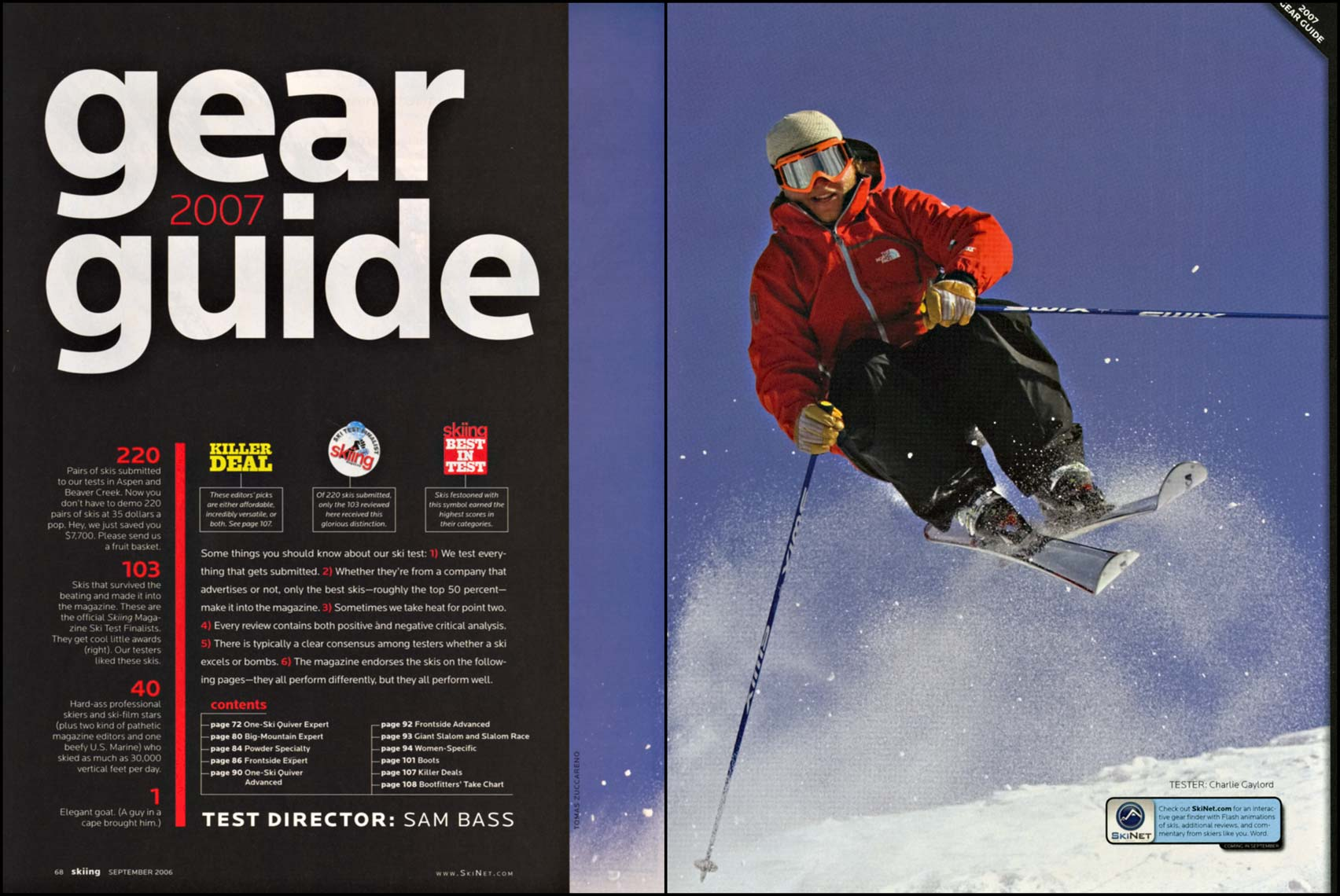 Tomas Zuccareno Photography | Gear Guide | Skiing Magazine