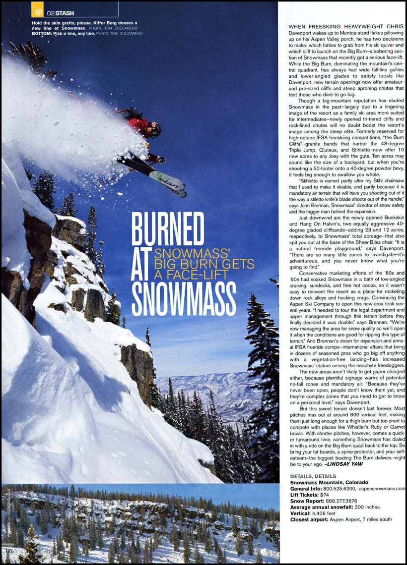 Tomas Zuccareno Photography | Powder Magazine