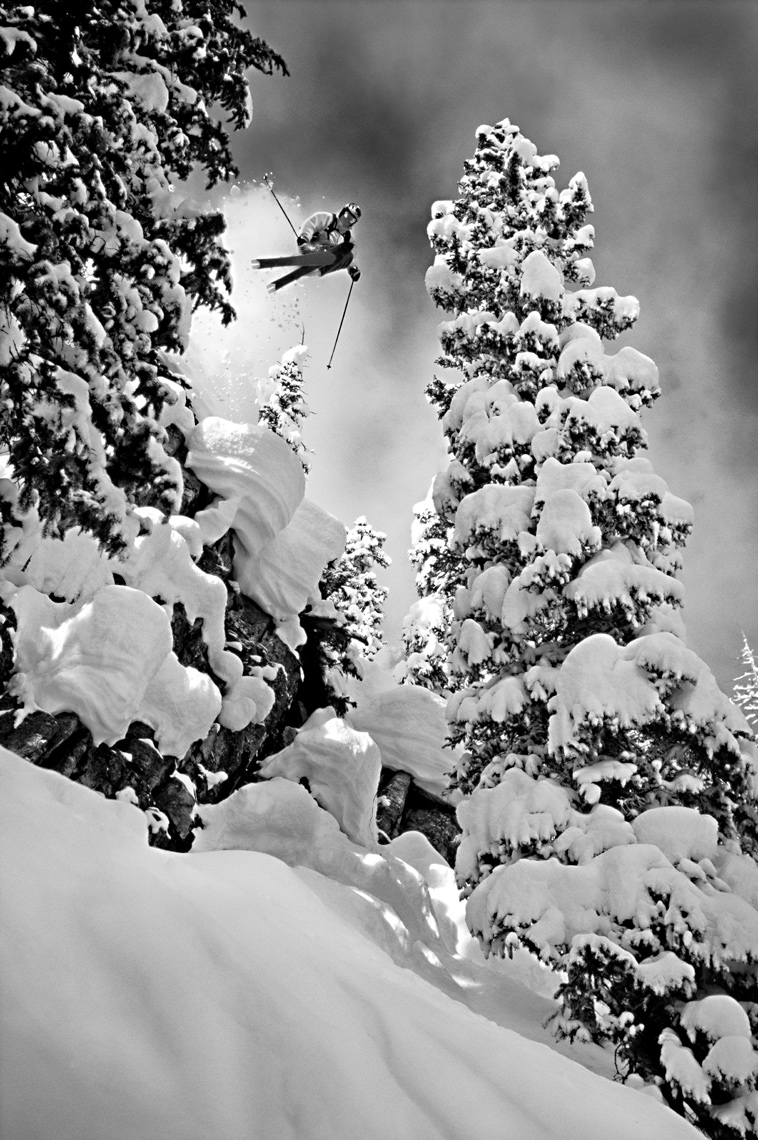 Tomas Zuccareno Photography | Chris Davenport Skiing in Colorado
